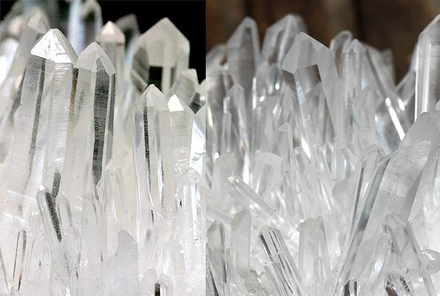 中国水晶クラスターの繊細なポイント