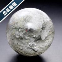 【店長厳選】ホワイトガーデンクォーツ丸玉-015