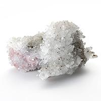インカローズ共生水晶クラスター(カクタスクォーツ)-053