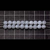 【メール便対応可】ブルーレースアゲート(32面カット)AA4mm(0.5mm穴)