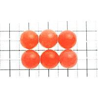 【メール便対応可】ルミナスオレンジアゲート10mm(1.0mm穴)