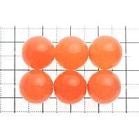【メール便対応可】ルミナスオレンジアゲート12mm(1.0mm穴)