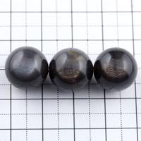 ブラックサンストーン14mm(1.0mm穴)