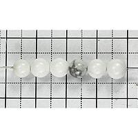 【メール便対応可】ハウライト 6mm(1.0mm穴)