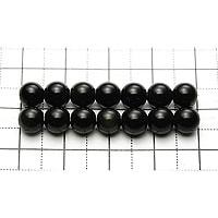 【メール便対応可】レインボーオブシディアンAAA6〜6.5mm(1.0mm穴)