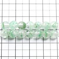 【メール便対応可】マダガスカル産グリーンファントムクォーツAAA5.5〜6mm(1.0mm穴)