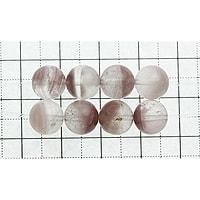 【メール便対応可】リチウムファントムクォーツ 9mm (1.0mm穴)