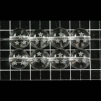 【メール便対応可】水晶ドラゴンボール(三星球)10mm(1.0mm穴)