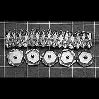 【メール便対応可】水晶平カット(大)6mm(1.0mm穴)
