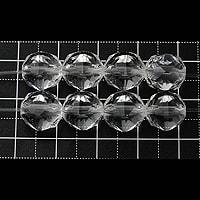 【メール便対応可】水晶スターカット10mm(1.0mm穴)