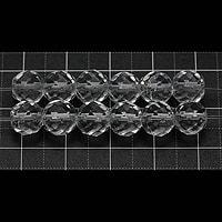 【メール便対応可】水晶64面カット8mm(1.0mm穴)