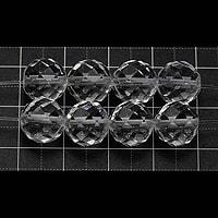 【メール便対応可】水晶64面カット10mm(1.0mm穴)