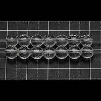 【メール便対応可】水晶128面カット6mm(1.0mm穴)
