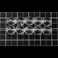 【メール便対応可】水晶128面カット7.5〜8mm(1.0mm穴)