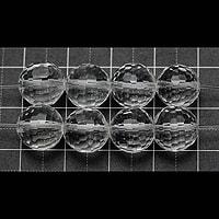 【メール便対応可】水晶128面カット10mm(1.0mm穴)