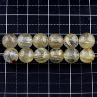 【メール便対応可】ルチルクォーツAA+(クリアタイプ)7mm(1.0mm穴)