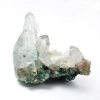 ブラジル産フックサイト共生水晶クラスター-006
