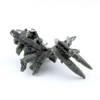 緑泥石入ガネーシュヒマール産水晶クラスター-048