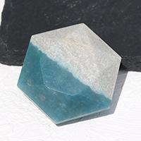 ブラジル産トロレアイト(トロール石)六芒星-018