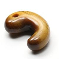 古代勾玉タイガーアイ(30mm)