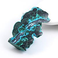 コンゴ産クリソコラマラカイト原石磨き-001