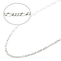【シルバー925】フィガロチェーン タイプ1<45cm>
