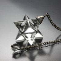 水晶マカバ(マルカバスター)ペンデュラム-021