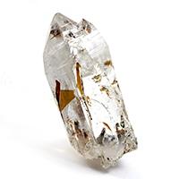 レアヒマラヤ水晶!パキスタン・スカルドゥ産バイオタイトインクォーツポイント-003