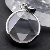 水晶ヘキサグラムペンダント-072