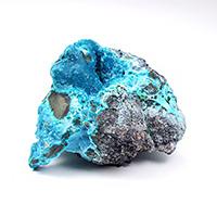 複合鉱物が作り出した芸術品!コンゴ産コルネタイト原石-001