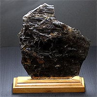【特選品】スモーキーエレスチャル原石(台座付き)-044(UI-59)