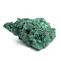 【半額SALE】コンゴ産ベルベットマラカイト原石-016