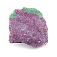 タンザニア産ルビーインゾイサイト原石-022