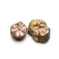 京都亀岡市湯の花産桜石2個セット-019