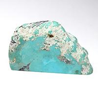 アリゾナ産ターコイズ原石磨き-009