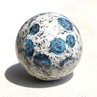 ヒマラヤK2ブルー丸玉-022