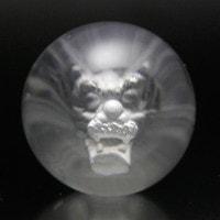 水晶裏彫り丸玉(龍)30mm-001